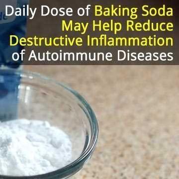 Drinking Baking Soda: A Cheap Way to Combat Autoimmune Disease