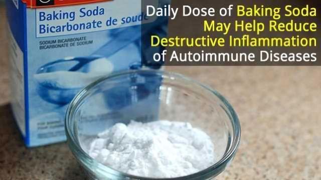 Drinking Baking Soda: A Cheap Way to Combat Autoimmune