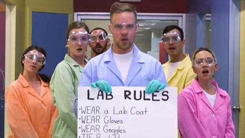 "LAB RULES - Dua Lipa ""New Rules"" Parody"