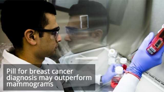 A Pill for Breast Cancer Diagnosis
