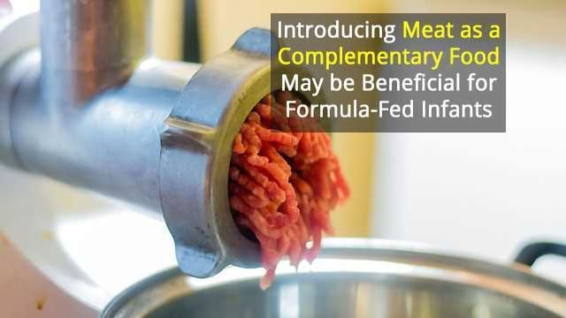 Meat-Fed Infants Could Have an Advantage in Early Growth