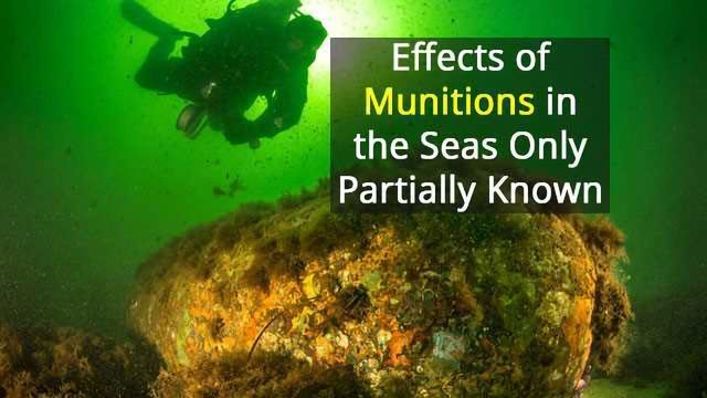 Coastal Ecosystems Worldwide Threatened by Munitions