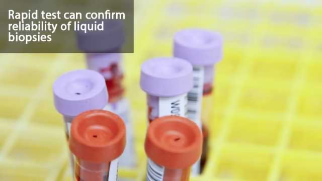 Quality-Control Test for Liquid Biopsies Developed