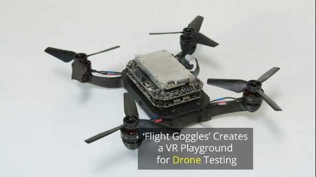 MIT Develops a VR Racetrack for Drones