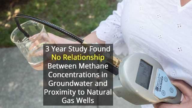 No Evidence of Drinking Water Contamination from Fracking