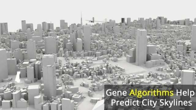 Genetic Algorithm Predicts Vertical City Growth