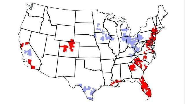This Twitter Map Shows Where the US's Entrepreneur Hotspots Are