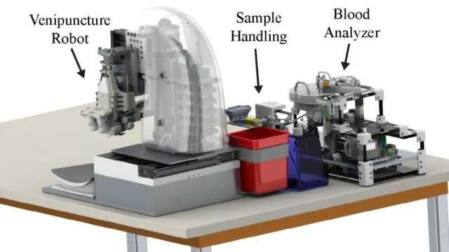 Automated Robotic Device Enables Faster Blood Testing