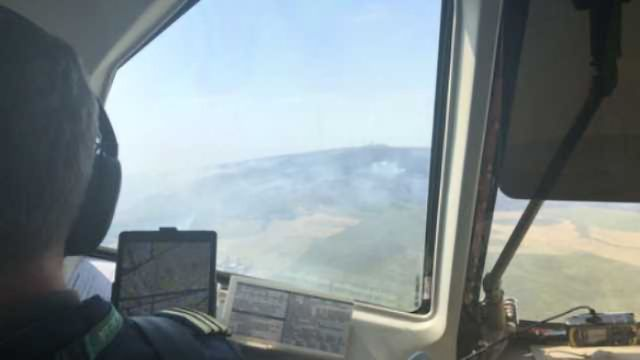 Flying Lab Samples Wildfire Pollution