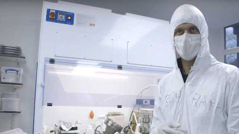 Inside a Quantum Computer Lab