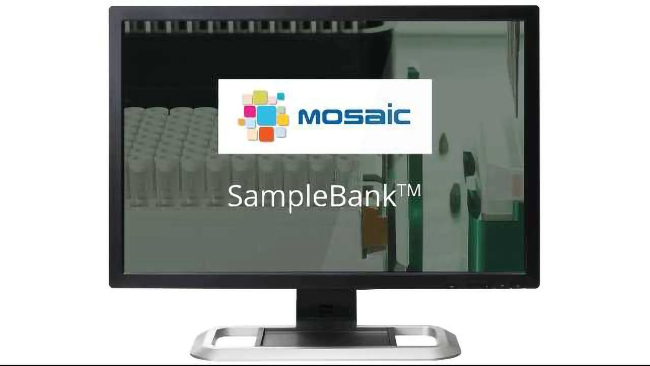 Titian's Mosaic SampleBank: never lose a sample