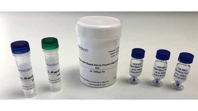 Expedeon AG Adds Five New Alexa Fluor Labels to its Lightning-Link Antibody Labeling Kit Range