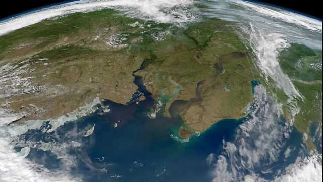 Major Rivers Show Surprising Changes in Carbon Chemistry