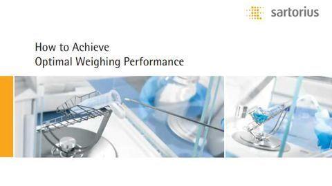 Achieve Optimal Weighing Performance