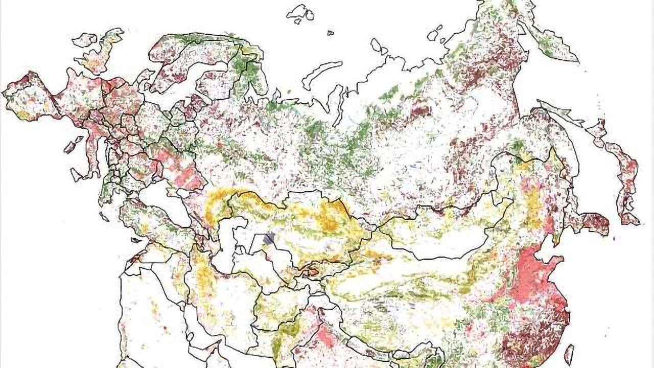 Powerful Map Illustrates Worldwide Environmental Degradation