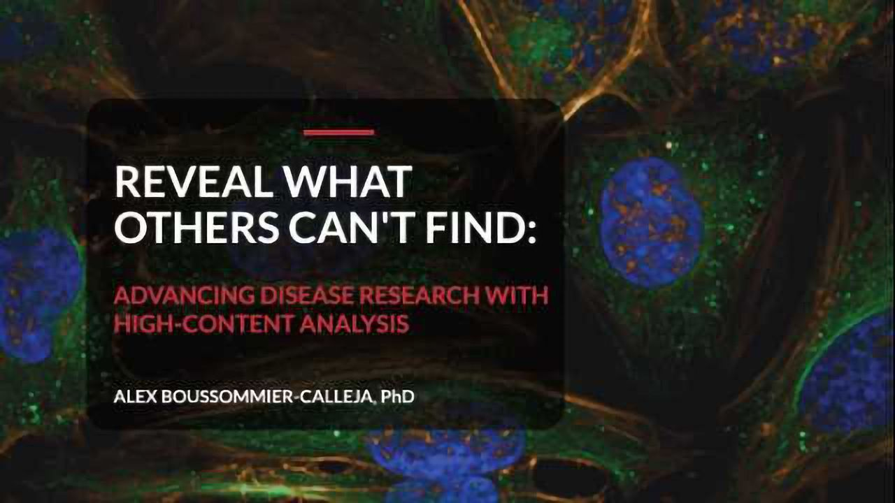 Advancing Disease Research with High-Content Analysis [Flipbook]