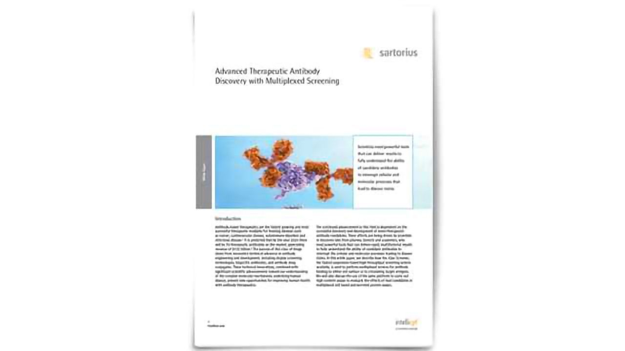 Advanced Therapeutic Antibody Discovery with Multiplexed Screening