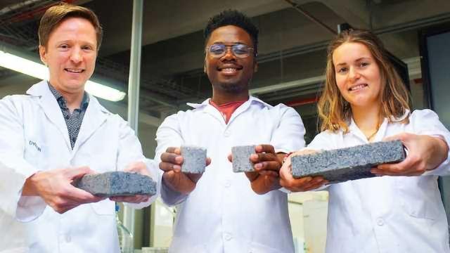 Bio-bricks Made From Urine