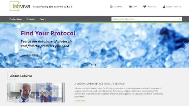 New Digital Marketplace for Life Science Products – Built with Scientists in Mind