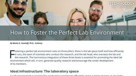 How To Foster the Perfect Lab Environment