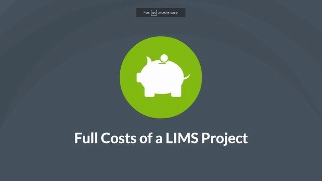 How Much Does a LIMS Cost?