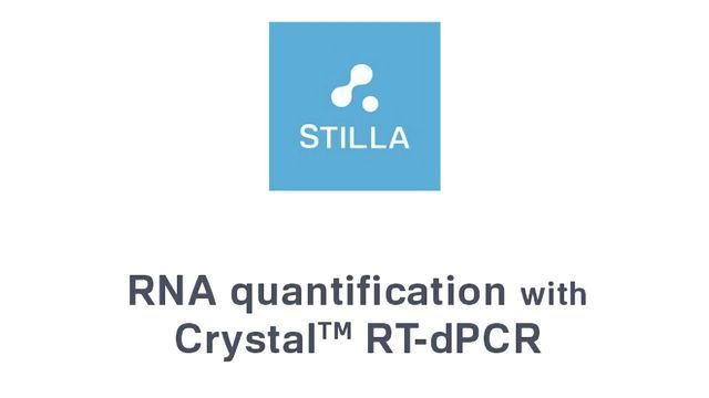 RNA Quantification with Crystal RT-dPCR