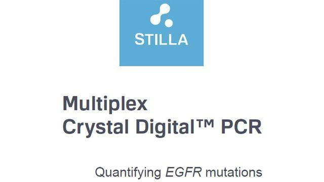 Multiplex Crystal Digital PCR - Quantifying EGFR Mutations