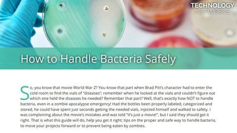 How To Handle Bacteria Safely