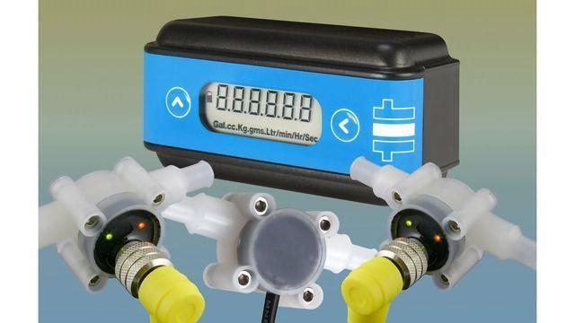 Flexible Flowmeter / Display Unit Combination