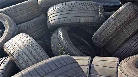 New Lease of Life for Old Tires in Roads