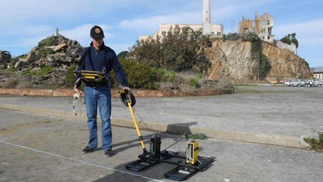 Military Structures Revealed Beneath Alcatraz