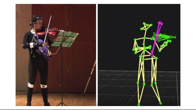 Take a Bow: AI Identifies Violinist Movements