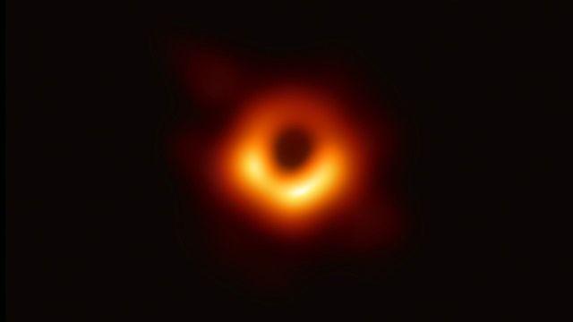 First Images of Black Hole Captured