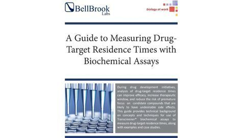 A Guide to Measuring Drug-Target Residence Times with Biochemical Assays