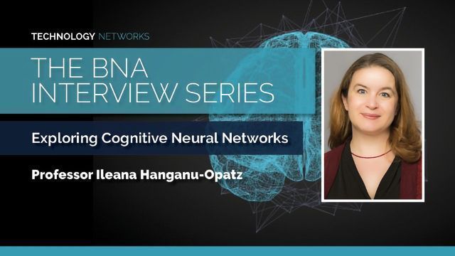 BNA Interview Series: Exploring Cognitive Neuronal Networks With Ileana Hanganu-Opatz