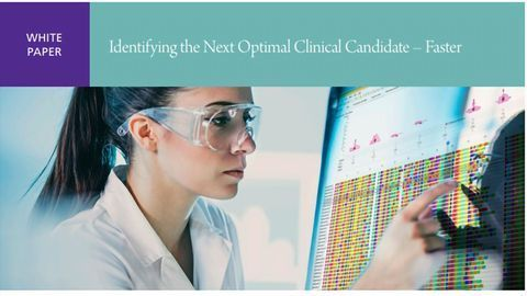 Identify the Next Optimal Clinical Candidate - Faster
