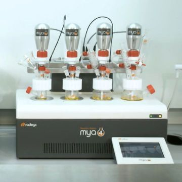 Mya 4 Reaction Station from Radleys - safe, unattended chemistry round the clock - one Reaction Station with limitless possibilities (full demonstration)