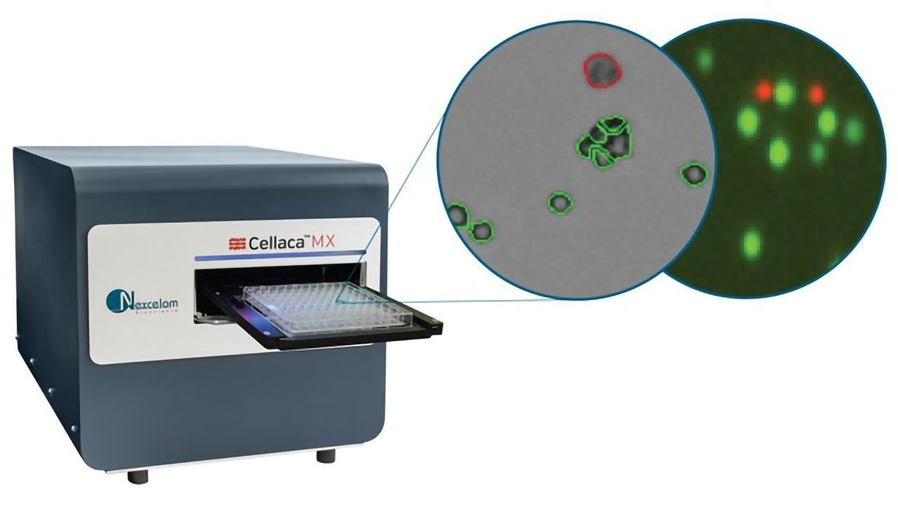 Cellaca MX - High-throughput Automated Cell Counter