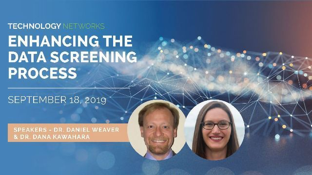 Enhancing the Data Screening Process