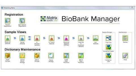 Enhanced Capabilities for Matrix Gemini Biobank Management