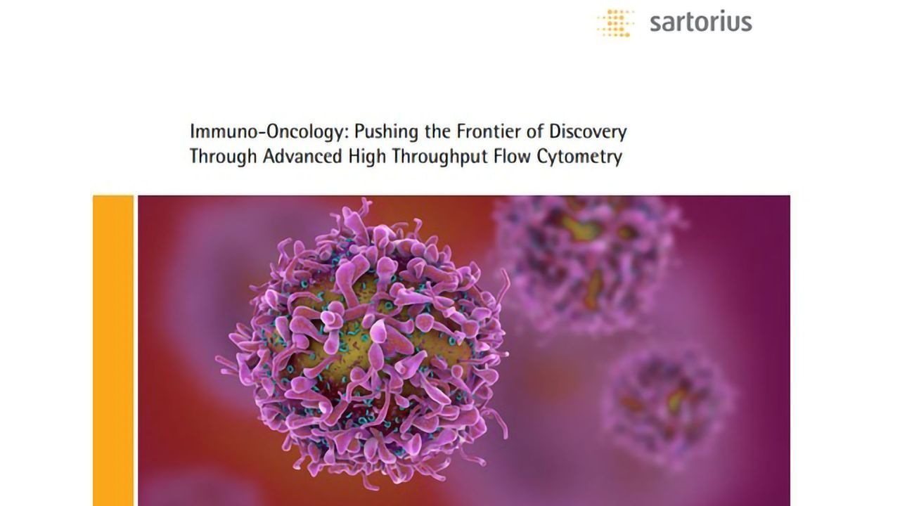 Immuno-oncology: Pushing the Frontier of Discovery Through Advanced High Throughput Flow Cytometry