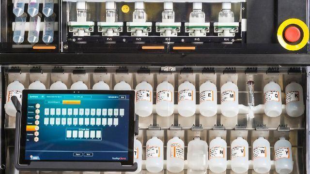 Improving Productivity - PurePep™ Chorus Automated Peptide Synthesizer