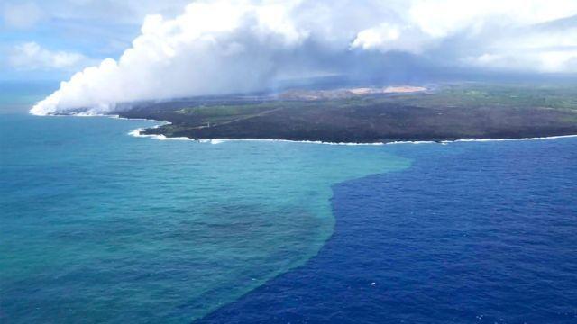 Algal Super Bloom Sparked by Volcanic Eruption