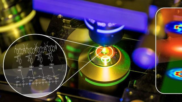 Lasers Reveal Nano-field Structures