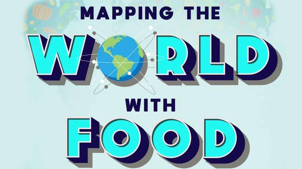 Mapping the World With Food