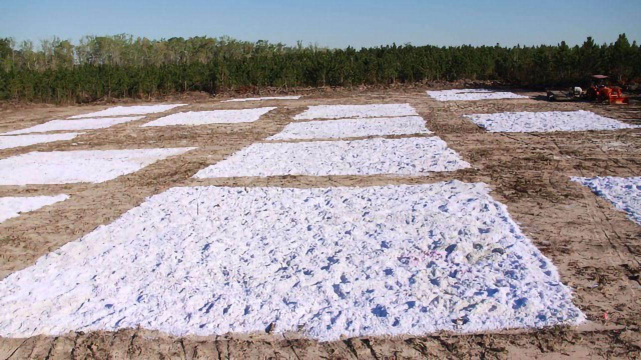 Waste Paper Revitalizes Tired Soil