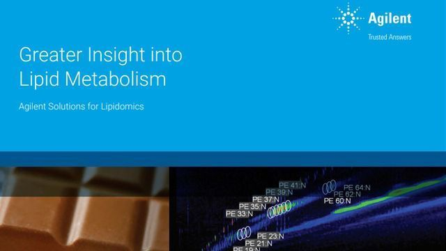 Greater Insight Into Lipid Metabolism