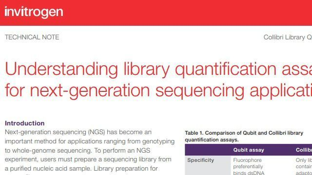 Understanding Library Quantification Assays for Next-generation Sequencing Applications