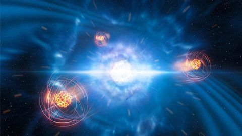 Newly Created Strontium Detected in Space for the First Time