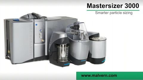 Mastersizer 3000: Smarter Laser Diffraction Particle Sizing from Malvern